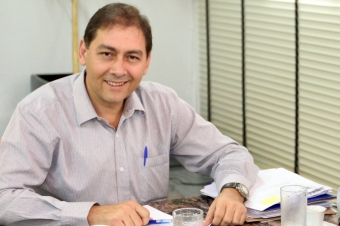 Prefeito de Campo Grande Alcides Bernal<br />Autor: Cesar Krugel