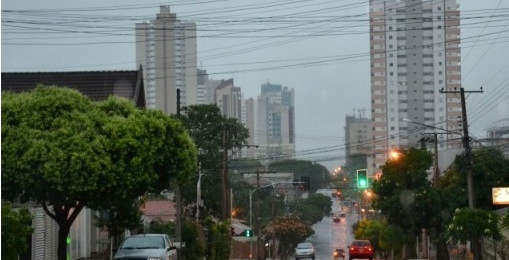 Tempo de ficar chuvoso durante toda a semana.