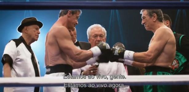 """Com Stallone e De Niro, filme traz """"Rocky"""" x """"Touro Indomável""""<br />Foto: Divulgação"""