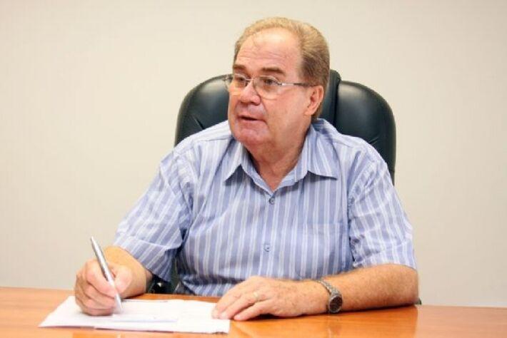 Presidente da Câmara de Vereadores de dourados, Idenor Machado (DEM)<br />Foto: Divulgação