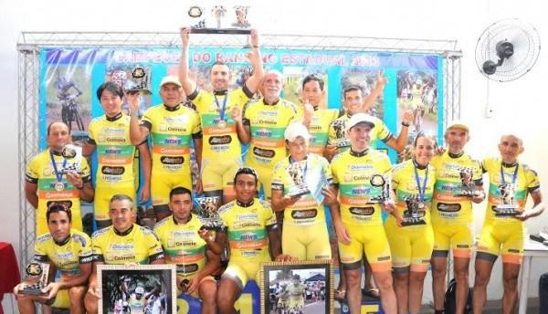 Equipe estadual de ciclismo<br />Foto: Divulgação