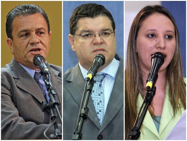 Vereadores afastados<br />Foto: Arquivo