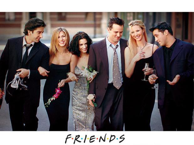 Courteney Cox é a mais disposta a convencer Jennifer Aniston a se reunir ao elenco de 'Friends' em 2014<br />Foto: Reprodução