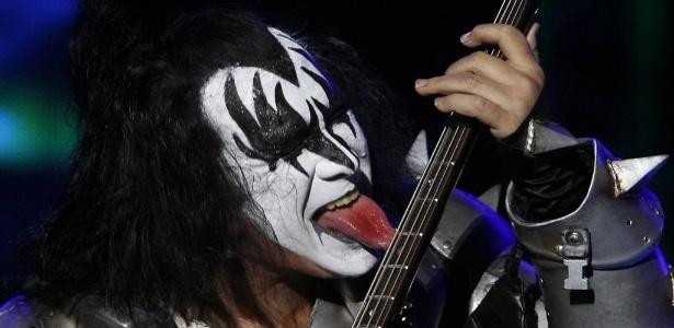 Gene Simmons do Kiss<br />Foto: Divulgação