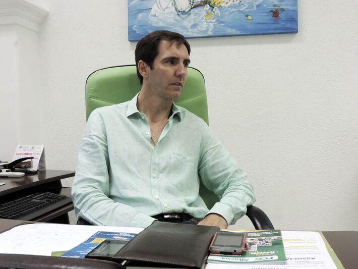 Diretor Ivan Reatte<br />Foto: Tayná Biazus