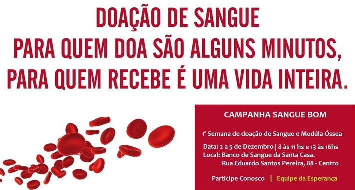 Doar sangue é seguro e quem doa uma vez, não é obrigado a doar sempre. No entanto, é muito importante que pessoas saudáveis doem regularmente.
