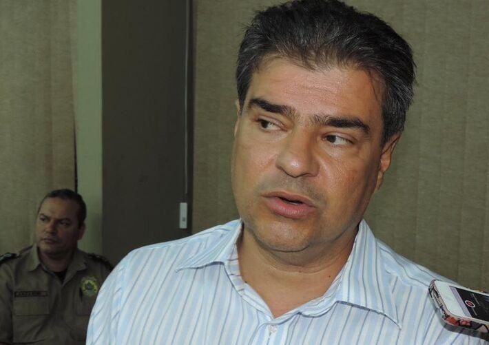Secretário de relações institucionais com municípios do Estado, Nelson Trad Filho