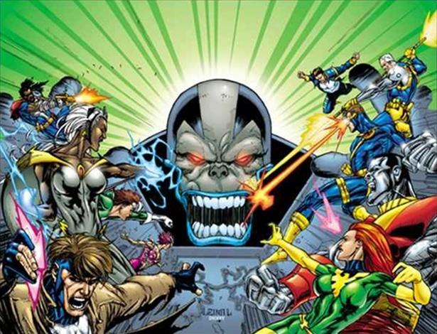 O vilão Apocalypse, que deve aparecer em novo filme dos X-Men<br />Foto: Divulgação
