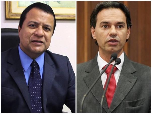 Deputados estaduais Amarildo Cruz (PT) e Marquinhos Trad (PMDB)<br />Foto: Arquivo