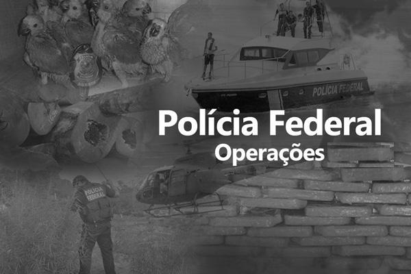 A Polícia Federal deflagrou na manhã de hoje a Operação Lazuli, com o objetivo de desarticular um grupo de servidores públicos municipais, ocupantes do cargo de Guarda Municipal, que estariam utilizando a função para obter vantagens ilícitas de eventu