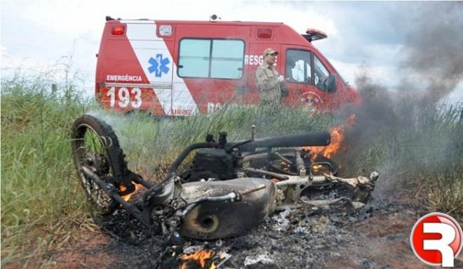 Acidente ocorreu na zona rual de Nova Andradina.