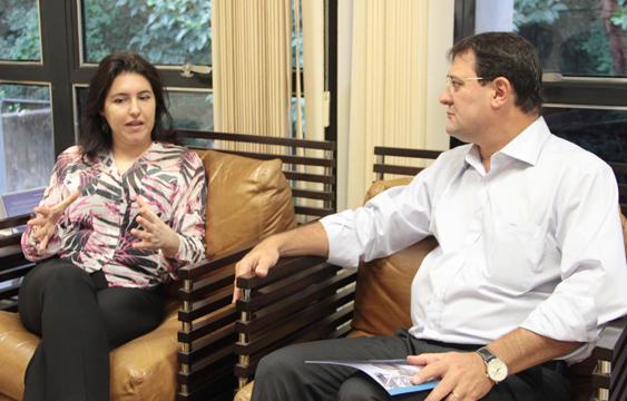 Governadora em exercício Simone Tebet<br />Foto: Assessoria