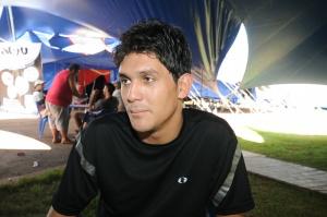 Desde os cinco anos Nilton foi incentivado pelo pai a ser palhaço<br />Foto: Dourados News/Ademir Almeida