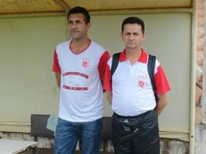 Edson Luiz Gazola (E) e Paulo Amaro Cáceres (<br />Foto: Divulgação