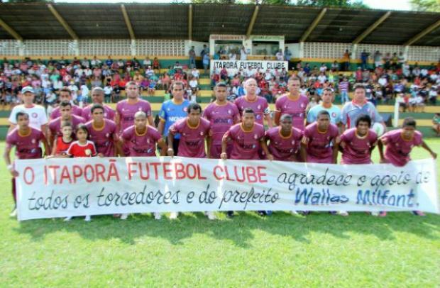 Itaporã Futebol Clube<br />Foto: Divulgação