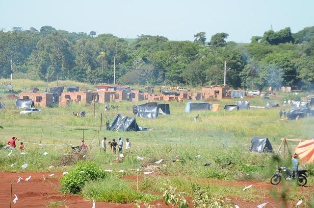 Local fica ao lado de acampamento montado no meio da semana<br />Foto: Ademir Almeida