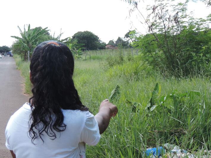 Ana Paula da Silva, 18, moradora do bairro<br />Foto: Klemerson Rocha