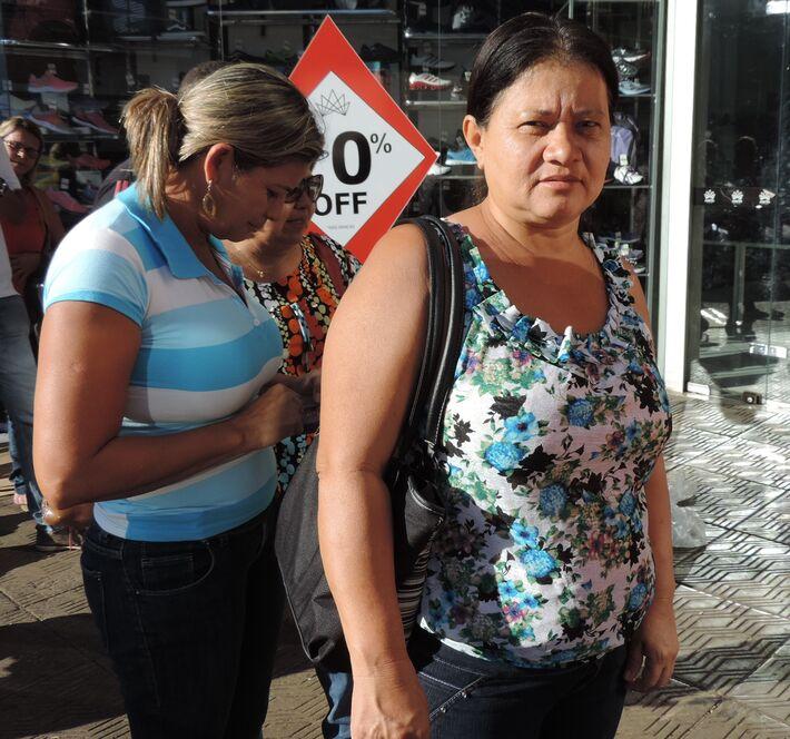 Vilma Salomão, aposentada<br />Tayná Biazus
