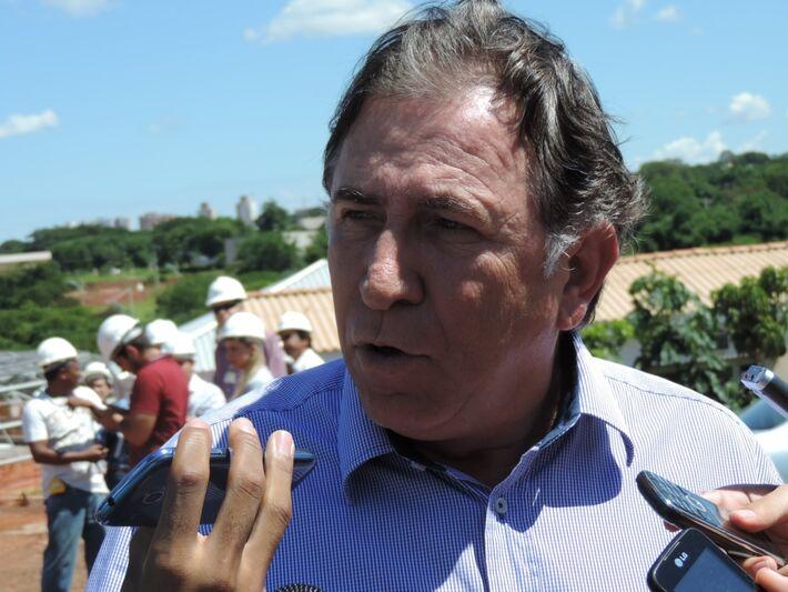 Secretário estadual de obras e deputado federal licenciado Edson Giroto