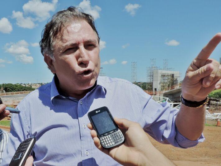 Secretário Edson Giroto<br />Foto: Diana Christie