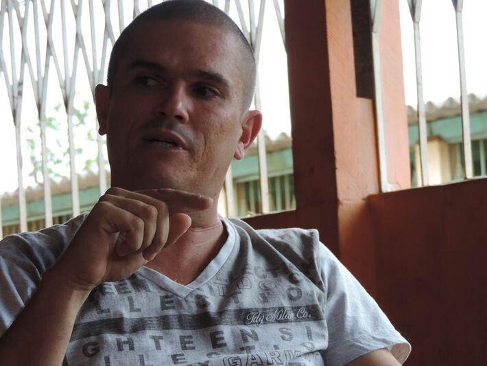 Presidente do bairro Lar do Trabalhador, Emerson Teixeira<br />Foto: Klemerson Rocha