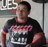 Oziel Ferreira, proprietário do Blues Bar<br />Foto:Tayná Biazus