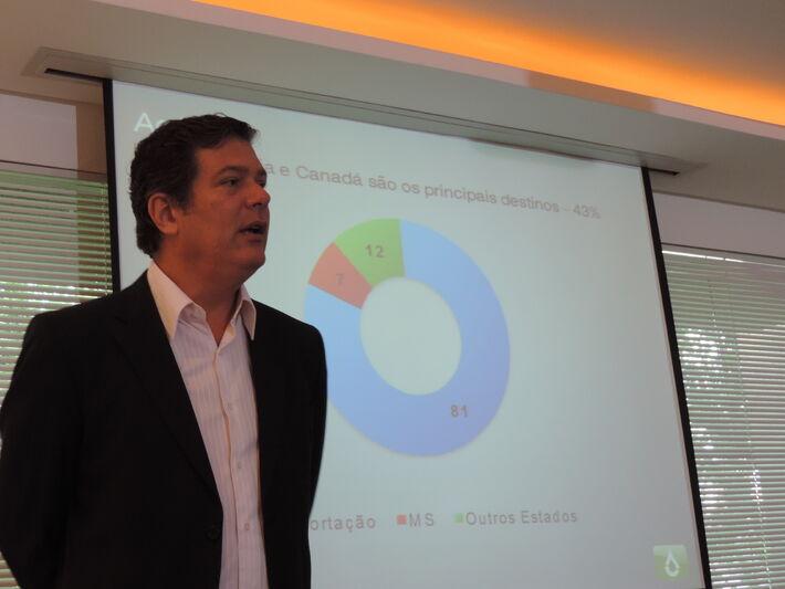 Presidente da BioSul, Roberto Hollanda Filho<br />Foto: Klemerson Rocha