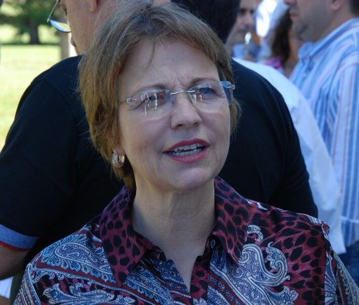 Secretária estadual Teresa Cristina