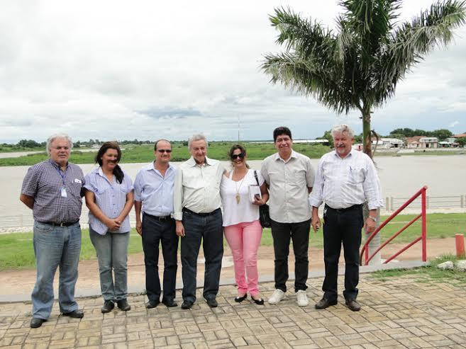 Heitor, vereador Fabinho, José C, Barbosa e comitiva<br />Foto: Giva Snabria