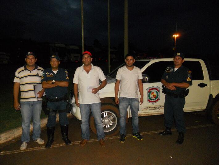 Polícia Militar de Mundo Novo e Polícia Paraguaia<br />Foto: SGT Nilson Silva