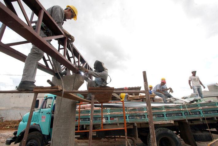 Construção Civil<br />Foto: Arquivo