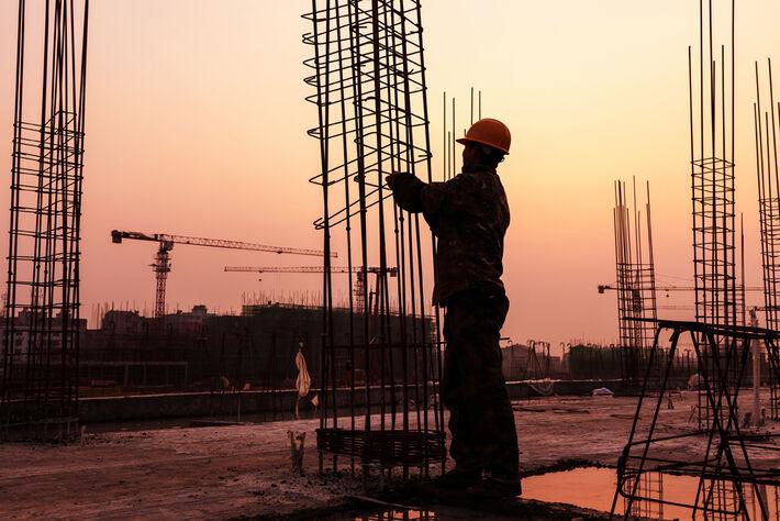 Construção civil<br />Foto: Assessoria Fiems