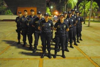 Guardas municipais de Campo Grande<br />Foto: Divulgação