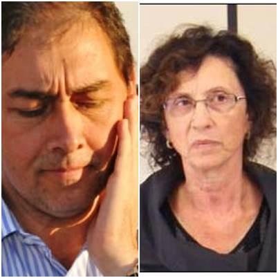 Bernal e prefeita Rita Sanco de Gravitaí