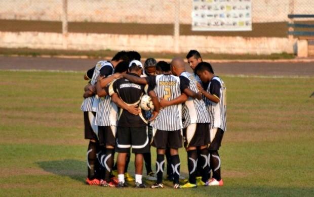 Novoperário em treino<br />Foto: Divulgação