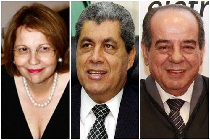 Tereza Cristina (PSB), André Puccinelli (PMDB) e José Anselmo (PSB)