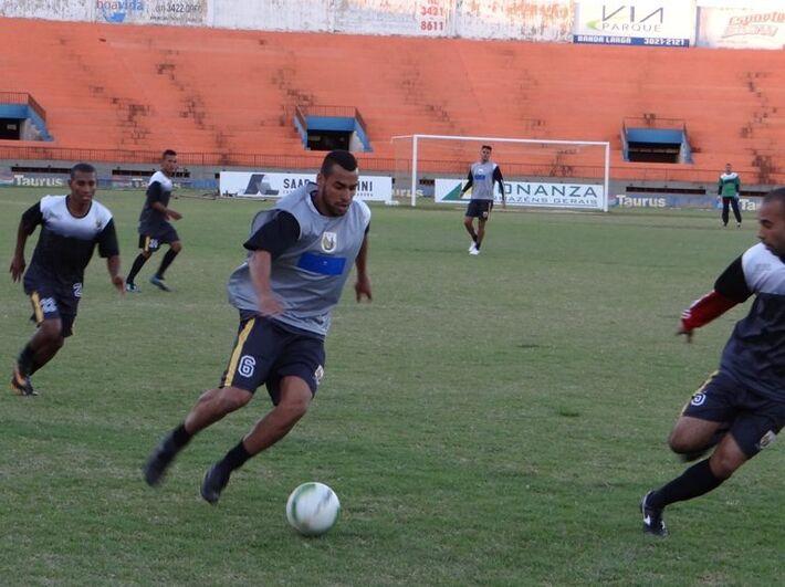 O atacante David Batista<br />Foto: Divulgação