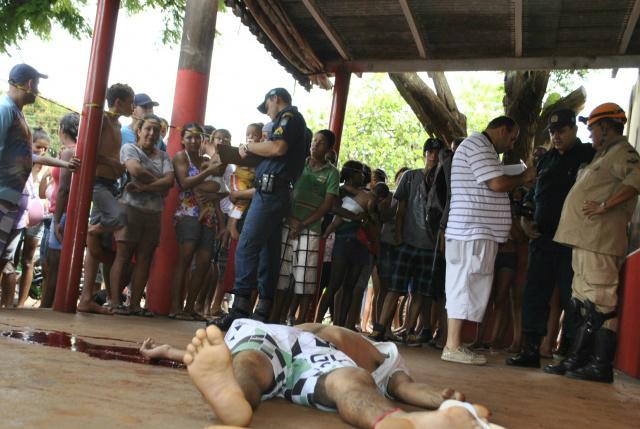 Neste mês de fevereiro nove homicídios foram registrados<br />Foto: Dourados News