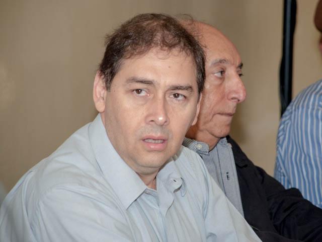 Prefeito Alcides Bernal (PP)<br />Foto: Marcelo Calazans