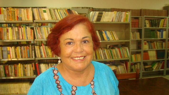 Odila Lange presidente da Academia Douradense de Letras<br />Foto: Nicanor Coelho