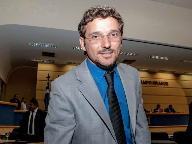 Vereador Eduardo Romero (PT do B)<br />Foto: Marcelo Calazans