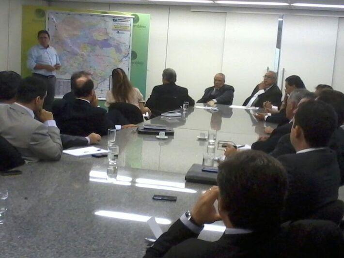 Reunião de Giroto com deputados<br />Foto: Dany Nascimento