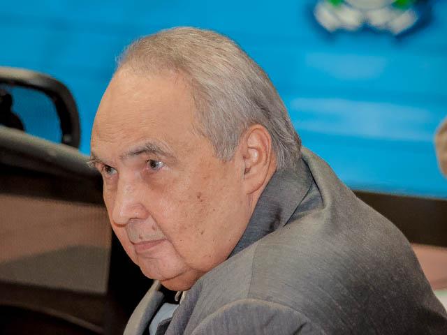 Deputado estadual e presidente regional do PR, Londres Mahcado<br />Foto: Marcelo Calazans