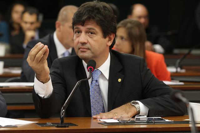 Luiz Henrique Mandetta (DEM) garante que médica cubana não procurou PT porque sabia que seria deportada (Foto: Reprodução)