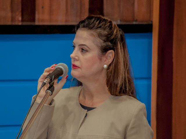 A deputada Mara Caseiro (PT do B) foi elogiada pelos membros do PMDB e pode ser candidata a vice-governadora ao lado de Nelsinho (Marcelo Calazans)