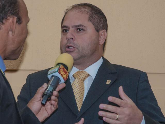Vereador Mario Cesar (PMDB)<br />Foto: Marcelo Calazans