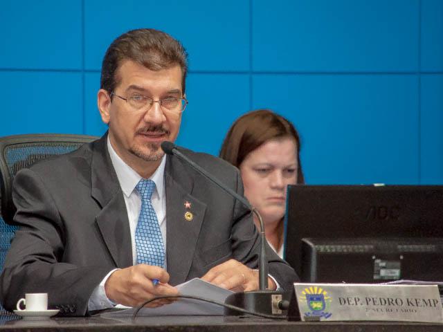 Deputado estadual Pedro Kemp (PT) propôs a audiência pública que acontece na próxima quarta-feira<br />Foto: Marcelo Calazans