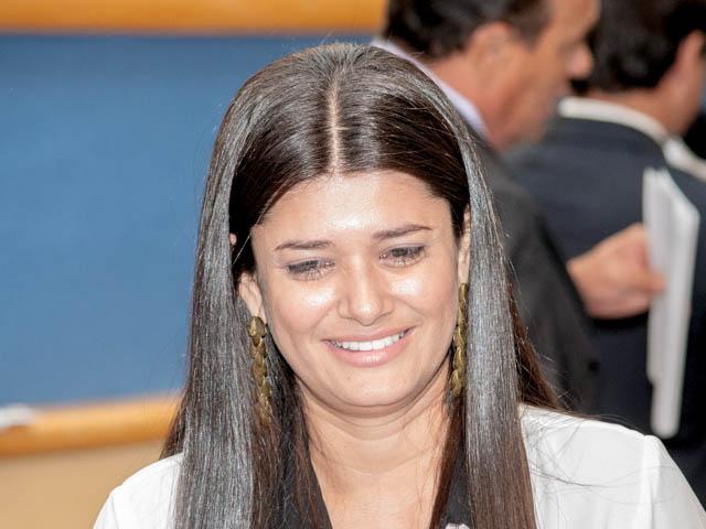Vereadora Rose Modesto (PSDB)<br />Foto: Marcelo Calazans