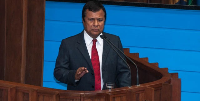 Deputado Estadual Amarildo Cruz (PT)<br />Foto: Marcelo Calazans