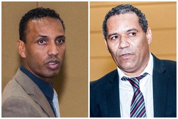 Vereadores Coringa (PSD) e Chiquinho Telles (PSD)<br />Foto: Marcelo Calazans